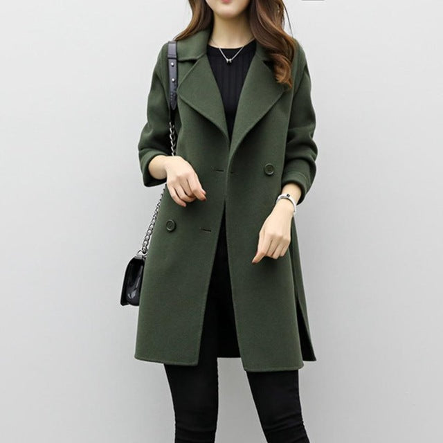 5ca92c3427b FEITONG ladies woman winter coats and jackets Womens Autumn Winter Jacket  Casual Outwear Parka Cardigan Slim