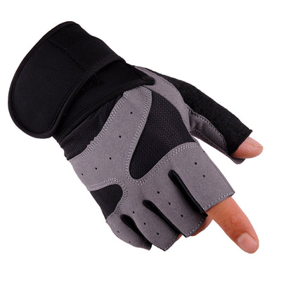 FEITONG Outdoor Driving Tactical Exercise Half Finger Fitness Gloves Sports Fingerless Microfiber Mens&womens Tactical Gloves - Dropshipper US
