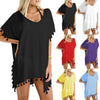 Womail Women Chiffon Swimsuit Cover Up Swimwear Beachwear Bikini Loose Beach Cover-Up 6 Colors #A1913 - Dropshipper US