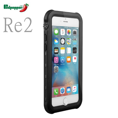 Redpepper RU/USA Ship Re2 TPU and PC IP68 Waterproof Underwater Hard Case for iPhone 7 Plus Brand Phone Protective Cover iphone7 - Dropshipper US
