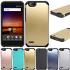 Dual Layer Hybrid Armor Case Anti Shock Rubber TPU & Hard PC Phone Cover For ZTE Tempo X N9137 / Blade Vantage / Avid 4 Z839 - Dropshipper US