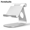 Portefeuille Tablet Stand Aluminum Adjustabl Holder For iPad Pro 10.5 Mini Air 2 iPhone X 7 8 6 6S PLus E-readers Bed Lazy Stand - Dropshipper US