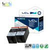 LCL 934XL 934 XL (2-Pack Black) Ink Cartridge Compatible for HP Officejet Pro 6830 6230 6815 6835 6812 6820 6220 Printers - Dropshipper US