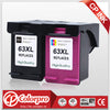 2PK High Quality for HP 63 63XL Remanufactured Ink Cartridges for HP Deskjet 1110 1112 2130 2131 2132 2133 2134 3630 - Dropshipper US