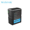 MAXOAK V158 10700mAh 14.8V V Mount Battery with Adapter Charger V Lock Battery for Sony Camcorder/ Video camera/BMCC - Dropshipper US
