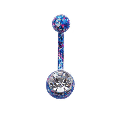 2018 Hot Brand Body Piercing Jewelry Belly Button Rings Sexy Crystal Rhinestone Dangle Steel Belly Piercing Navel Piercing Gift - Dropshipper US