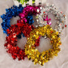 Wedding Decorations Handmade Ribbon Garland Wreath Christmas Door Wall Ornament Xmas Hanging Home Decor Party Supplies ano novo - Dropshipper US