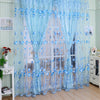 Modern Luxury Modern Leaves Designer Curtain Tulle Window Sheer Curtain For Living Room Bedroom Kitchen Window Screening Panel - Dropshipper US