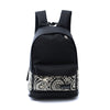 1PC backpack Women Boys Girls Unisex Canvas Rucksack Backpack School book Bags For Teenagers super quality Mochila Escolar#5 - Dropshipper US