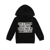 2018 Spring Autumn Toddler Kids Baby Boys Clothes Children Clothing Hooded Sweatshirts Infant Letter Blouse Hoodies Tops - Dropshipper US