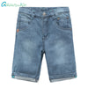 Grandwish Plain Jeans Shorts for Boys Summer Denim Jeans Bermuda Shorts for Children Kids Cotton Cowboy Pants 24M-6T,TC236