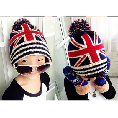 2017 Fashion And Comfortable New Toddler Kids Girl&Boy Baby  Winter Warm Crochet Knit Hat Beanie Cap#35 - Dropshipper US