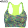 LELINTA 5 Colors Female Fitness Yoga Sports Bra for Running Gym Straps Padded Top Athletic Vest Quick Dry Sport Bra for Women