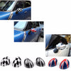 Areyourshop Car Rearview Side Mirror Cover Cap for MINI Cooper Hardtop 2014 F55 & 2015 F56 ABS plastic Car Styling - Dropshipper US