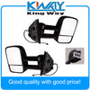 Side View Mirrors Power Heated Towing Black LH & RH Pair Set Fit for 2007-2013 Chevy GMC - Dropshipper US