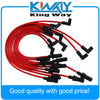 RED JDMSPEED SPARK PLUG WIRES SET Fits For Dodge 1500 2500 3500 TRUCK VAN 1990-2003 - Dropshipper US