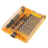 OUTAD 1set  High Quality 45in1 Torx Precision Screw Driver Cell Phone Repair Tool Set Tweezers Mobile Kit hot search - Dropshipper US