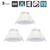 8W LED Recessed Downlights Led Down lights Lamp Lighting Cool White Lighting 5000K Cut 70-85MM AC240V IP44 for Kitchen 3pcs - Dropshipper US