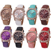 Women watches Luxury Diamond Analog Leather Quartz Wrist Watches Fashion ladies Watch women quartz watch wristwatch M.2