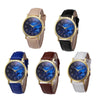 Retro Design Leather Band Analog Alloy Quartz Wrist Watch Watches women watchs popular women quartz watch wristwatch M.2