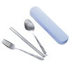 Stainless Steel Rainbow Cutlery Set Dinnerware Set Western Food Cutlery Tableware Dinnerware Set Christmas Gift