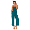 Free Ostrich rompers womens jumpsuit summer sexy jumpsuit short Womens Straps Zipper Holiday Ladies Long Beach Jumpsuit D0635