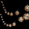 Halloween 10 LED String Lights Pumpkin Bat Spider Lantern 2.4M Battery Powered Halloween Decorations for Home Party Props Decor