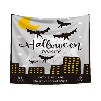 1 piece of tapestry  Halloween Beach Cover Up Tunic Tapestry Wallhaning Roomdorm Home Decor #8225