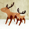 Christmas Ornaments Felt Christmas Elk Deer Xmas Tree Hanging Decoration Pendant Gift christmas decorations for home