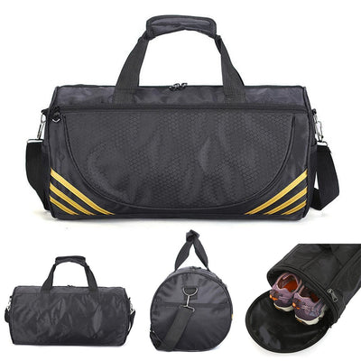 Outdoor Waterproof Nylon Sport Gym Bag