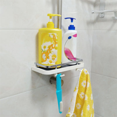 Adjustable Bathroom Shelf Rack Storage Holder