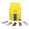 (Shipping From Us )100 Pcs Steel Standard Utility Knife Blades Cutter Razor Replacement Hand Tools