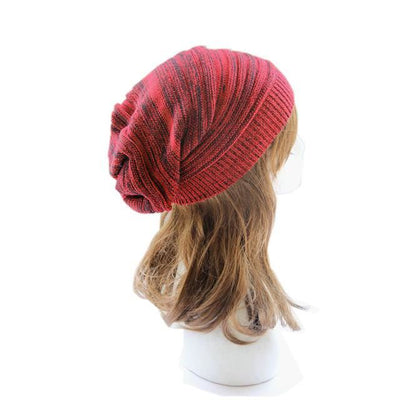 Soft Rabbit Double Knitting Thick Bonnet Beanie Caps Solid Warm Winter Hats For Womens Cap Skullies Beanies Female Hat A / United States