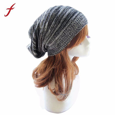 Soft Rabbit Double Knitting Thick Bonnet Beanie Caps Solid Warm Winter Hats For Womens Cap Skullies Beanies Female Hat Womens Hats & Caps