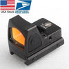 Us Stock Mini Rmr Red Dot Sight Collimator Glock Reflex Scope Fit 20Mm Weaver Rail For Airsoft Hunting Rifle Rl5-0004-2