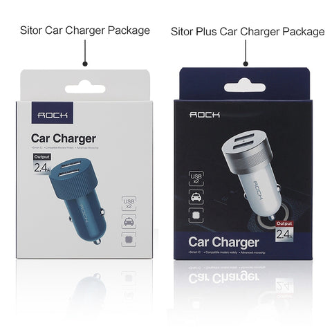 2.4A Dual USB Fast Car-Charger for Smartphones