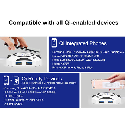 Multifunction Wireless Charger
