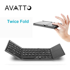 Compact Foldable Keyboard