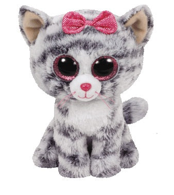 TY Beanie Boo Kiki Kitty Cat Soft Toy Teddy