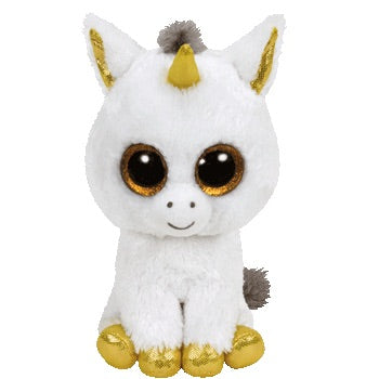 TY Beanie Boo Pegasus Unicorn Soft Toy Teddy