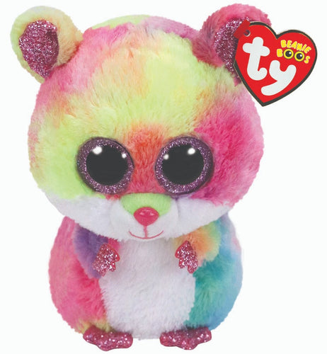 TY Beanie Boo Rodney The Hamster Soft Toy Teddy
