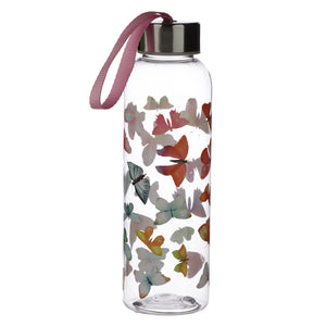 Botanical Butterfly Print Water Drinking Bottle 500ml