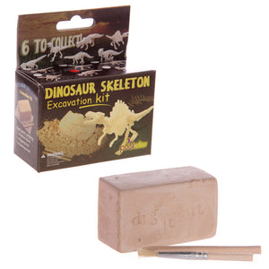 Creative Digging Dinosaur Fossil Skeleton Excavation Kit