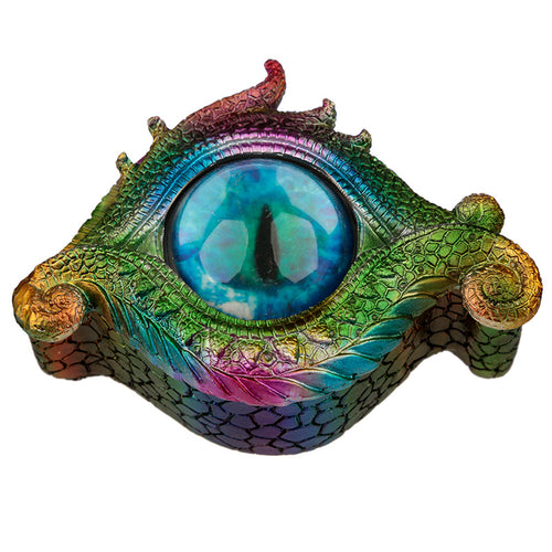 Dragons Eye Metallic Rainbow Effect Trinket Storage Box