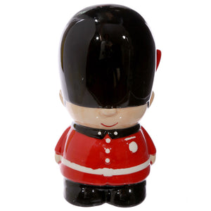 Red Classic London Guardsman Money Bank