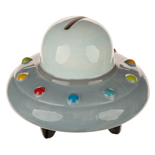 UFO Spaceship Space Theme Money Bank