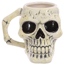Gothic Skull Head Shaped Mug