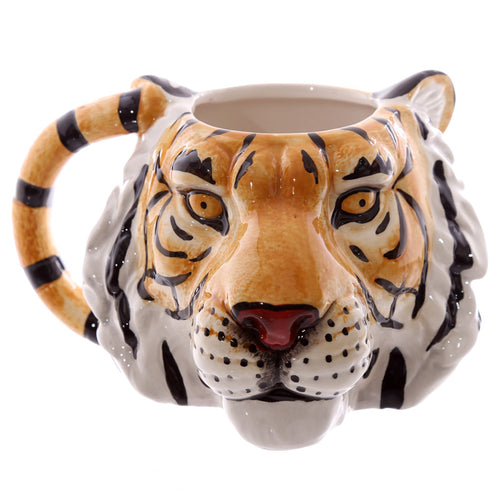 3D Tiger Head Shaped Mug