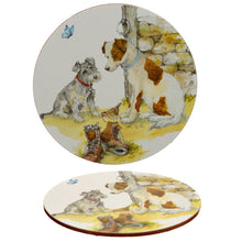 Multiple Dog Breed Print Porcelain Mug & Coaster Gift Set