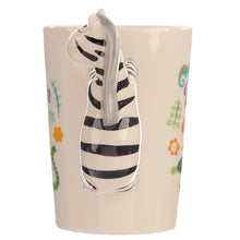 Black & White Zebra 3D Shaped Mug